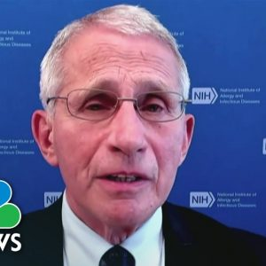 Dr. Anthony Fauci Discusses Covid Vaccinations For Children
