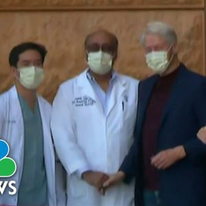 Former President Bill Clinton Discharged From Hospital
