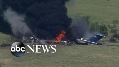 Private plane crashes in Texas